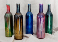 Drip-painted Smoking Bottles