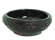 Black Ceramic Incense Cone Burner