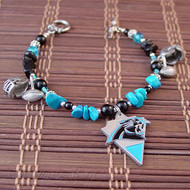 Carolina Panthers Ultimate Fan Bracelet - Officially NFL licensed