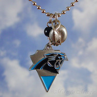 Carolina Panthers Charm Necklace - Officially NFL licensed