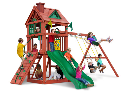 Studio view of Double Down II play set from Plan-It-Play