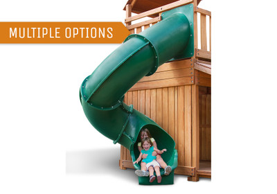 Super Tube Slide (7' Deck Height)