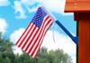 Outdoor view of American Flag from Plan-It-Play.