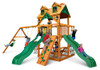 Studio shot of Woodmont Swing Set from Plan-It Play
