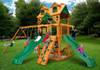 Outside shot of Woodmont Swing Set from Plan-It Play