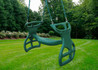 Lifestyle shot of Double Glider Swing from Plan-It-Play.