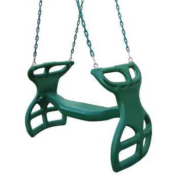 Studio shot of Double Glider Swing from Plan-It-Play.