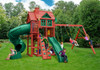 Lifestyle view of Nantucket Deluxe Play Set from Plan-It-Play.