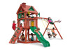 Studio shot of Nantucket II Swing Set Playset from Plan-It-Play