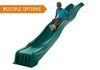 Studio shot of Green Cool Wave Slide from Plan-It-Play.