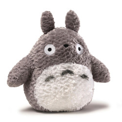 Fluffy Big Totoro Grey, 9 inches
