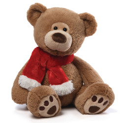 Tassel Brown Bear 17""