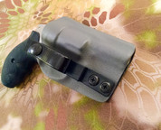 Our Ultimate IWB for a Smith & Wesson Short Barrel J-Frame with a tuckable soft loop.