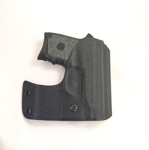 "Pocket holster for a Smith & Wesson Bodyguard w/o laser. This is the 5"" hook in right hand."