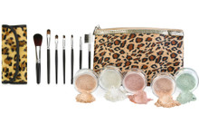 Leopard Kit with Brush Set & Bag