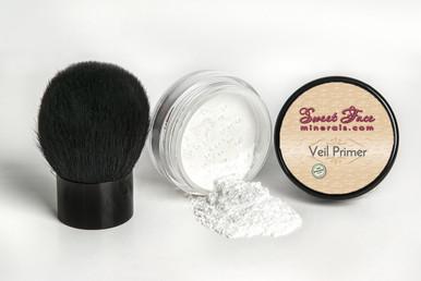 Mineral Veil Primer with Kabuki Brush