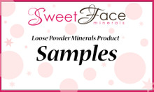 Loose Powder Minerals Product Samples