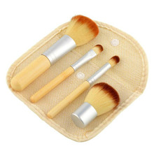 4pc Bamboo Brush Set