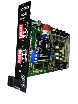 TD424ES (CH4 Card Detector) - Eurocard with Serial Outputs