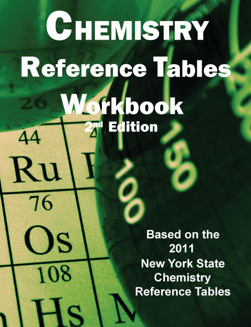Chemistry Reference Tables Workbook - 2nd Edition