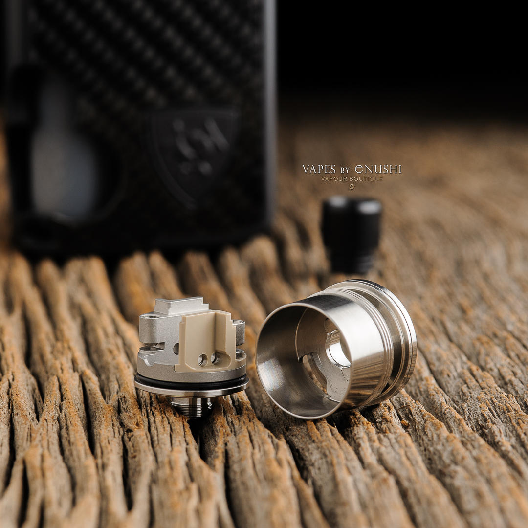Vicious Ant Club Omega Atomizer Air Flow Direction