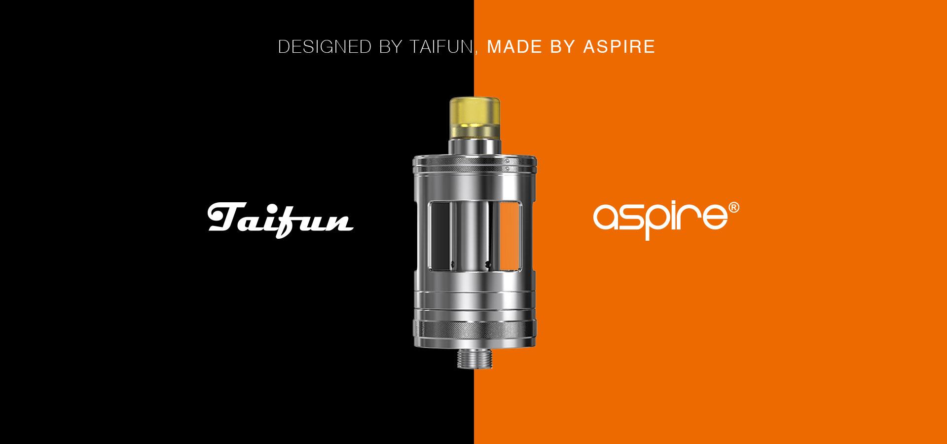 Taifun x Aspire Nautilus GT Tank Design