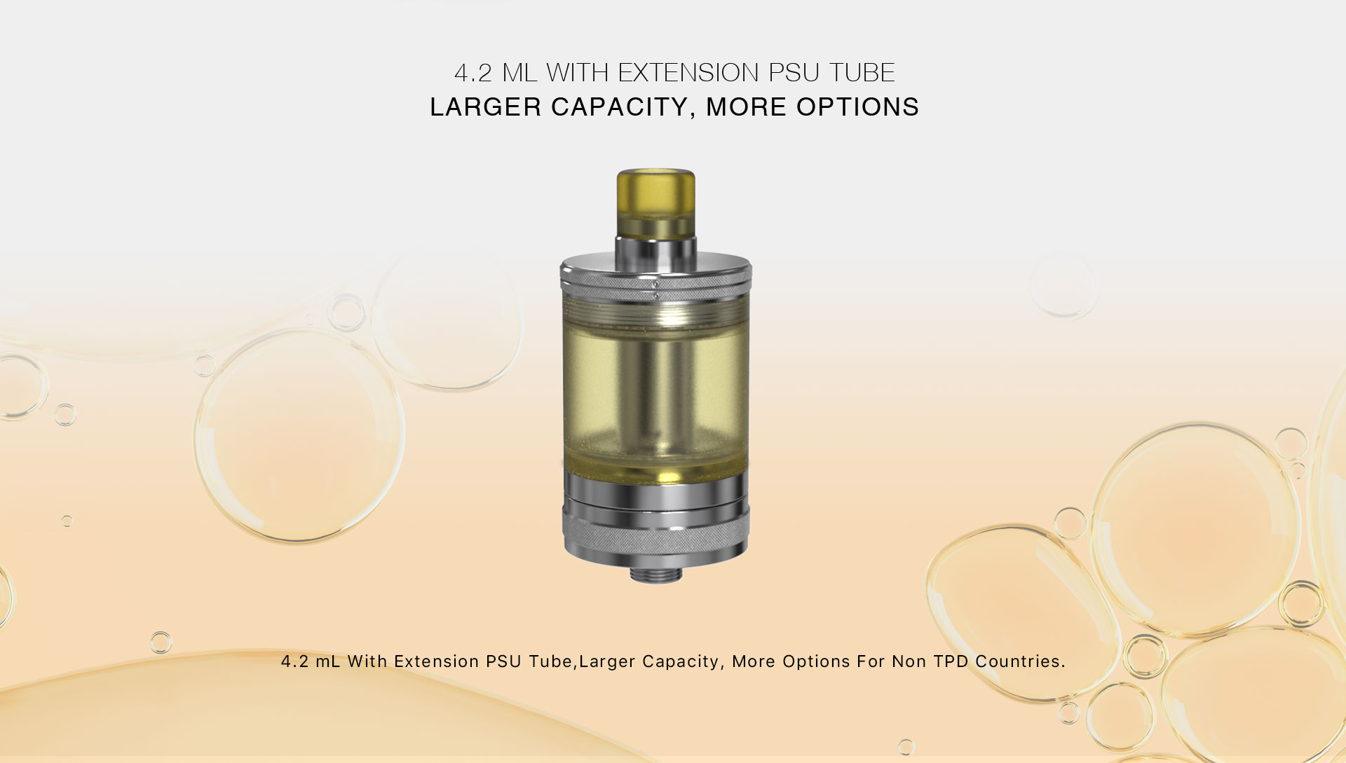 Taifun x Aspire Nautilus GT Tank Liquid Capacity