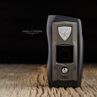 "Vicious Ant - ""Knight, Blackened Steel"" Metal SX550J Dual 18650 Mod"