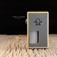 "Octopus Mods - ""L'Octopus Olive Distressed Limited Edition"" Bottom Feed Squonk Box"