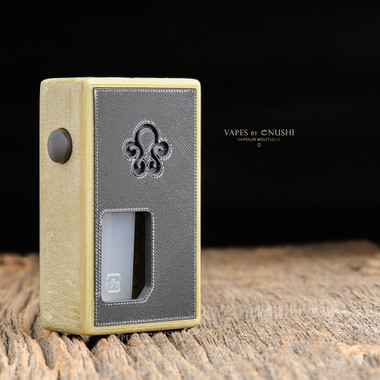 """Octopus Mods - """"L'Octopus Olive Distressed Limited Edition"""" Bottom Feed Squonk Box"""