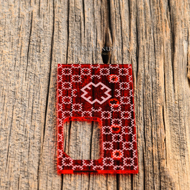 "Octopus Mods - ""Octopus Acrylic Door, Transparent Red, Enucci Edition"""