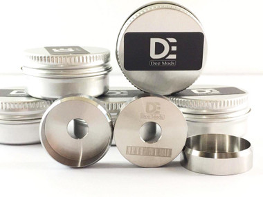 """Dee Mods - """"Beauty Ring, Stainless Steel (SS)"""""""