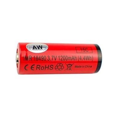 "AW - ""18490 1200 mAh"" 15C / 18A IMR Battery"