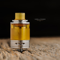"Steam Tuners - ""Ultem Tank Set for Tankit 22"" shown attached to Tankit for demonstration purposes only. This sales listing is only for the Ultem tank section and drip tip."