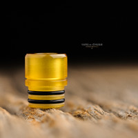 "Steam Tuners - ""T8 Ultem Polished Drip Tip"""
