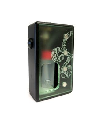 "Octopus Mods - ""L'Octopus Black Delrin"" Bottom Feed Squonk Box"