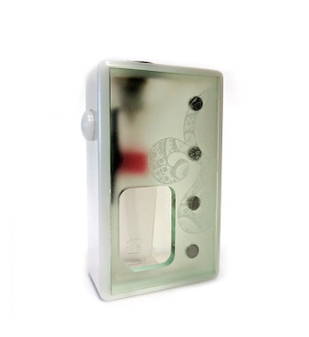 """Octopus Mods - """"L'Octopus White Delrin"""" Bottom Feed Squonk Box"""