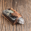 """Bell Vape by Chris Mun - """"Bell Cap for Solo RDA by Dee Mods"""" (Drip tip, Solo RDA deck, beauty ring, and mod are not included in sale. Shown attached for demonstration purposes only)"""