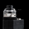 """Bell Vape by Chris Mun - """"Bell Cap for Le Concorde by Vaponaute"""" - Polished.  Note: Drip tip, deck, beauty ring, and mod are NOT included in sale. Shown for demonstration purposes only."""