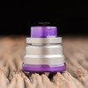 "Nick Ricotta Customs - ""Beauty Ring / Drip Tip Set"" for Typhon, Clear Purple"