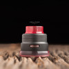 "Nick Ricotta Customs - ""Beauty Ring / Drip Tip Set"" for Armor RDA, Clear Red"