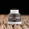 "Nick Ricotta Customs - ""Beauty Ring / Drip Tip Set"" for Armor RDA, Solid White (Delrin)"