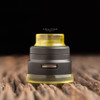 """Nick Ricotta Customs - """"Beauty Ring / Drip Tip Set"""" for Armor RDA, Clear Yellow"""