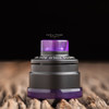 "Nick Ricotta Customs - ""Beauty Ring & 510 Drip Tip Set"", Clear Purple"
