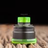 "Nick Ricotta Customs - ""Beauty Ring & 510 Drip Tip Set"", Clear Neon Green"