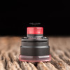 """Nick Ricotta Customs - """"Beauty Ring & 510 Drip Tip Set"""", Clear Red"""
