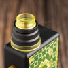 """Nick Ricotta Customs - """"Beauty Ring / Drip Tip Set"""" for Typhon, Clear Yellow"""