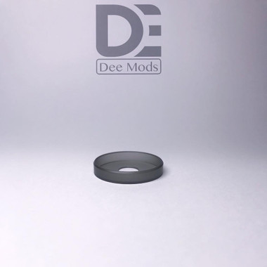 """Dee Mods - """"Shorty V2 Black Frosted PMMA Beauty Ring"""""""
