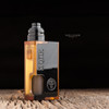 """Proteus Progeks - """"Black Acrylic Door for SQNK Ultem & Final Breed"""". Shown attached to Beater Ultem mod with SQUI RDA for representation only. This mod and atomizer is not included in the sale. This sale is only for the black acrylic door."""
