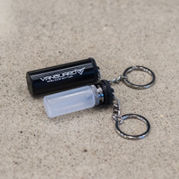 "Vicious Ant - ""Vanguard Keychain"" Bottle Carrier, Black Aluminum"